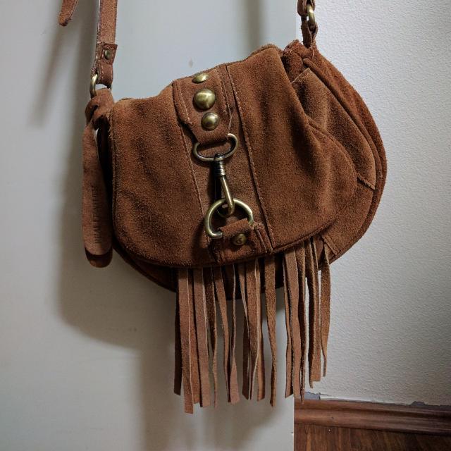 Topshop Vintage Suede Bag