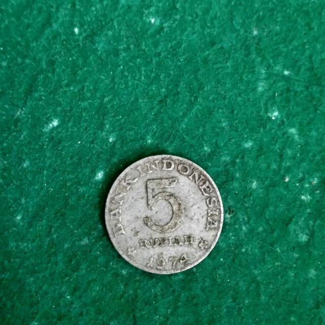 Uang Lama Indonesia Thn 1974