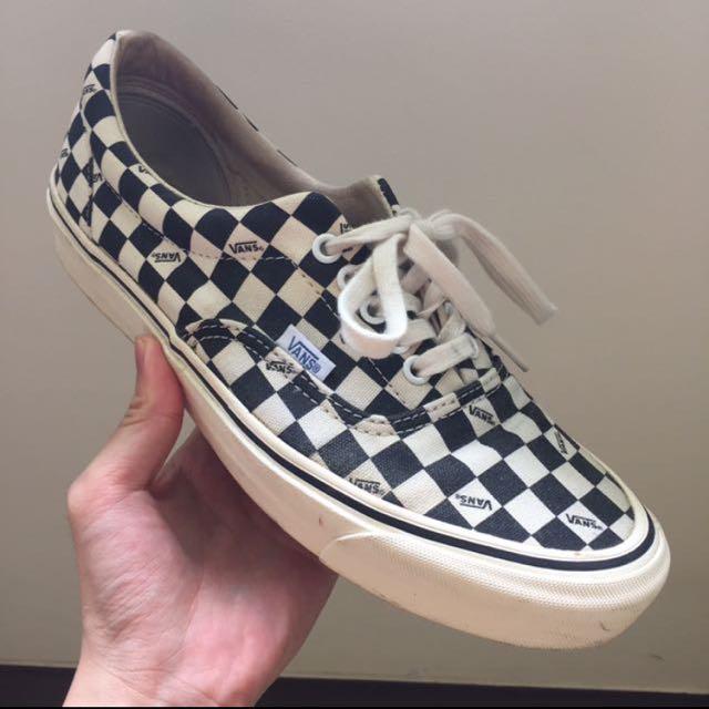 Vans Vault Checkerboard Era OG LX Menu0026#39;s Fashion Footwear On Carousell