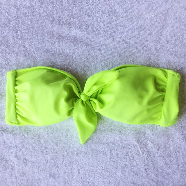 Victorias Secret Neon Swimsuit Top