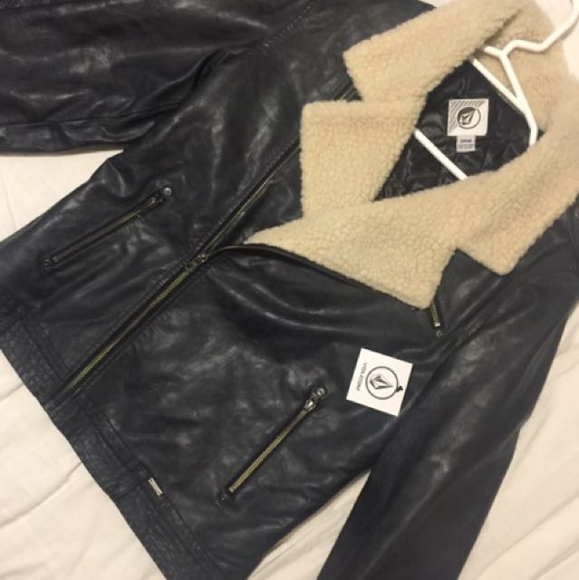 Volcom Leather Jacket