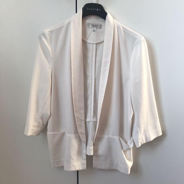 White Coat Size 10