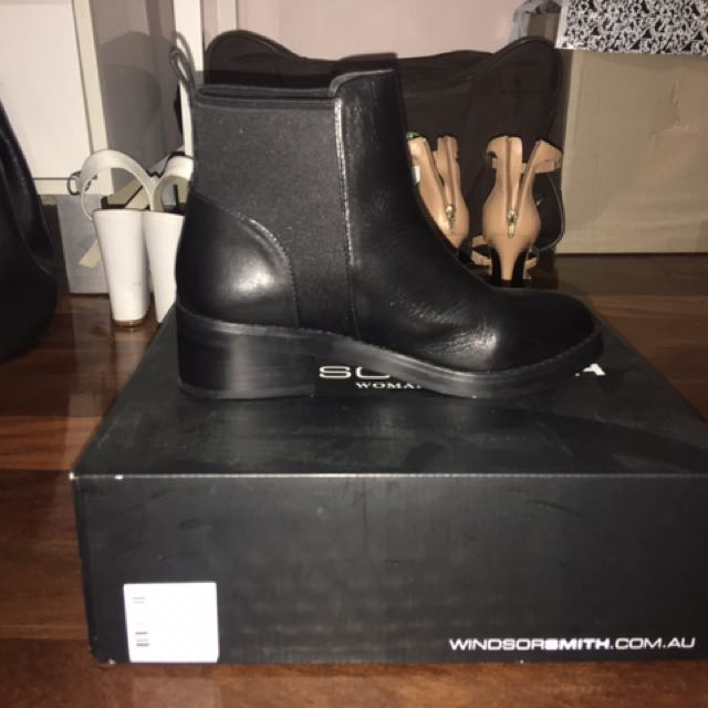 Windsor Smith Leather Boots Size 6 never Worn