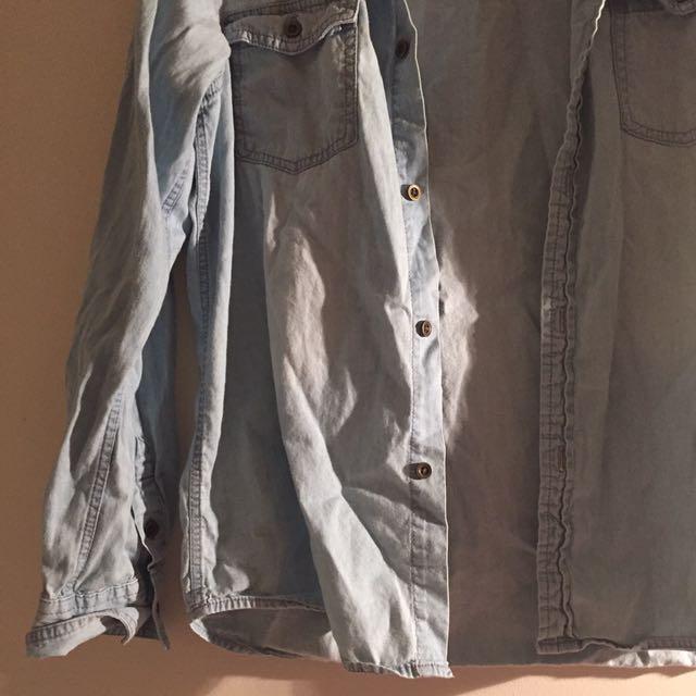 Women's Denim Look Shirt