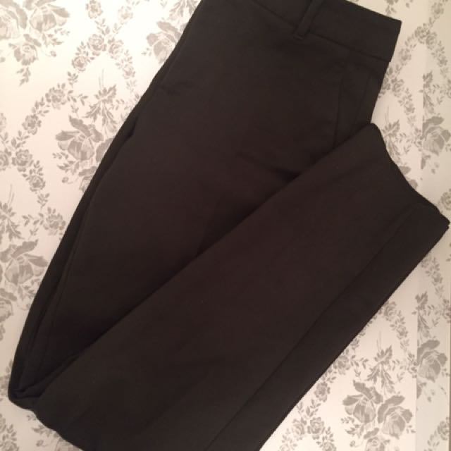 Zara Pants/Capris Forest Green