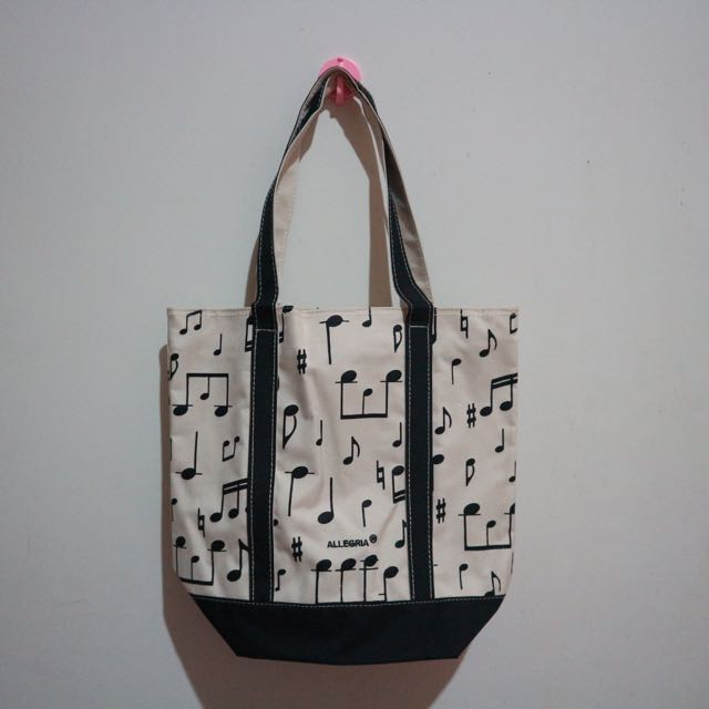 Zippered Tote Bag (NEW)