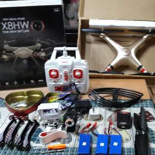 X8HW DRONE 2ND HAND