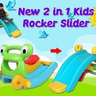 {Ready Stock} Rocking horse slide