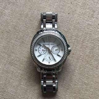 Micheal Kors Silver Watch