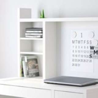IKEA Working Desk With Magnetic Writing Board