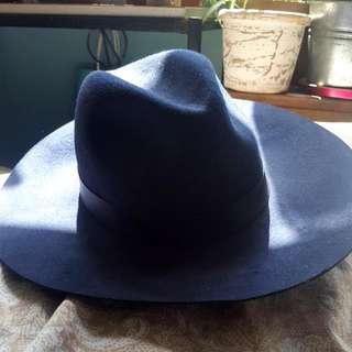 Blue Topshop Hat