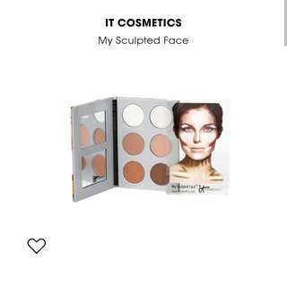 It Cosmetics My Sculpted Face Contour Palette #uobpaynow