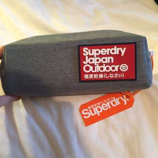 🇬🇧全新正品superdry筆袋