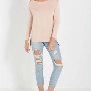 Cold Shoulder Knit