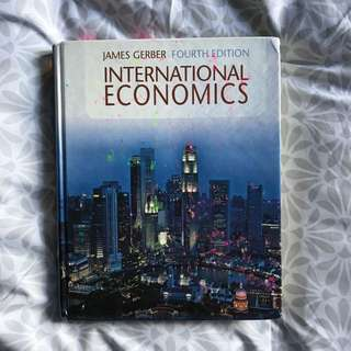 International Economics Textbook