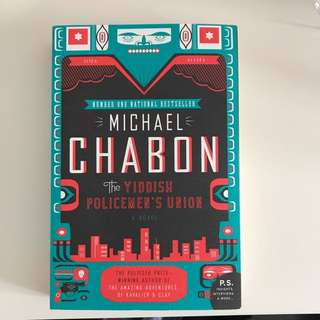 The Yiddish Policemans Union- Michael Chabon