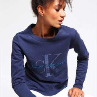 Calvin Klein Blue Jumper