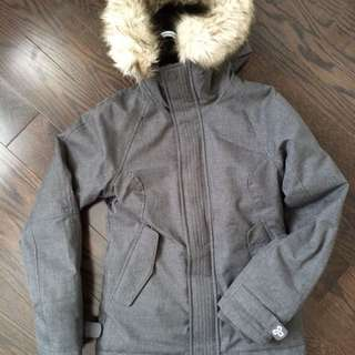 Grey Aritzia Winter Jacket