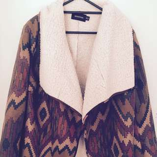 Mink Pink Fur Jacket
