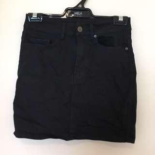 Goldie Black Skirt
