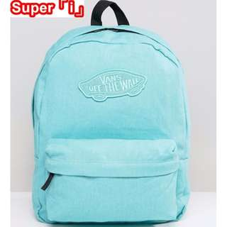 「i」【現貨】Vans 薄荷糖 Realm Backpack 馬卡龍配色 素色 後背包 書包