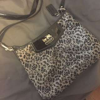 Coach Crossbody Bag And Matching Cardholder