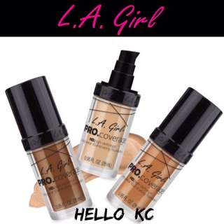 💖INSTOCKS💖 LA GIRL HD Pro Coverage Illuminating Foundation