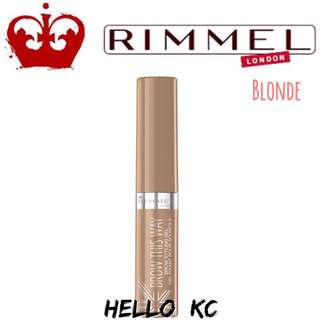 💖INSTOCKS💖 RIMMEL LONDON Brow This Way Eyebrow Gel - BLONDE