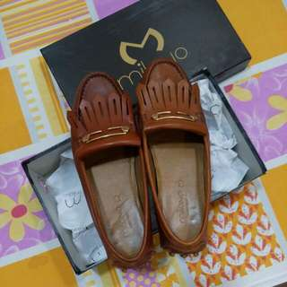 Genuine Leather Milano Shoes