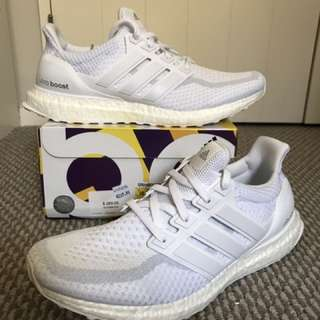 Brand New Adidas Ultraboost Triple White US 10