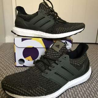 Brand New Ultraboost Olive Green US 10