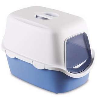 Stefanplast Cathy Filter Cat Litter Box (Blue/ Green)