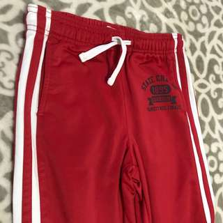 Red Jogging Pants For 10-12 Yrs Old