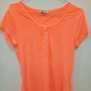 Shocking Orange Top