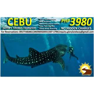 3D2N CEBU TOUR PACKAGE ALL IN!