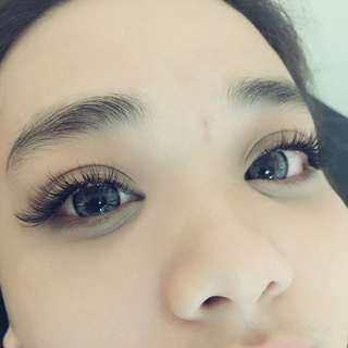 Eyelashes Extension With Unlimited Lashes