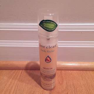 Live Clean Argan Oil Leave In Conditioner