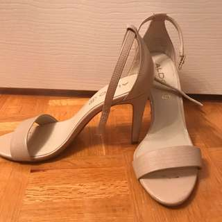 Also Nude Scrappy Heels 7.5