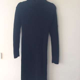 Scanlan And Theodore S/M Black Knit