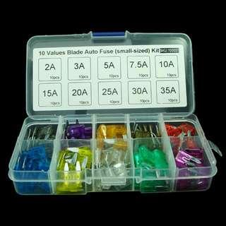 100pc Box Of Fuse Kit