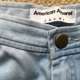 American Apparel High Waist Easy Jeans