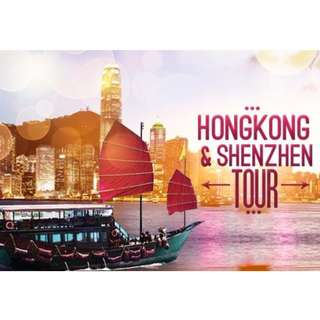 HONG KONG 3D2N TOUR PACKAGE - ALL IN FULL BOARD MEALS