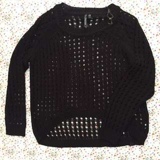 RAZZLE DAZZLE knit black