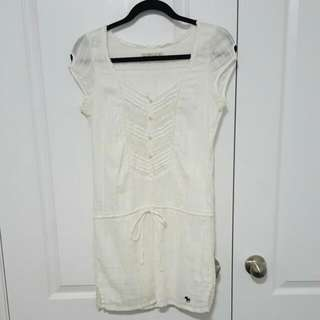 Lace Detail Abercrombie Tunic XS
