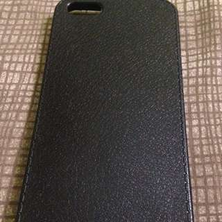 Black Leather Case iPhone 5/5s/se