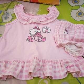 Hello Kitty Dress And Panty