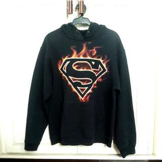 VIRGIN MEGASTORE Superman Hoodie Jacket