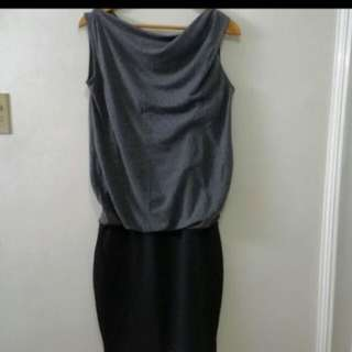 Gray Stylish Dress