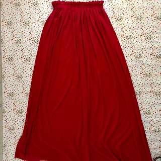 Hot Pink long skirt