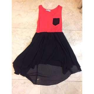 Pink Skater Skirt Dress